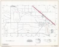 Pima County Highway Map, Sheet 12 of 39, Marana, Page 24, Pima County 1975 Highway Maps