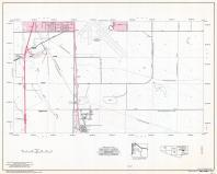 Pima County Highway Map, Sheet 22 of 39, San Xavier Indian Reservation, Page 34, Pima County 1975 Highway Maps