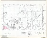 Pima County Highway Map, Sheet 33 of 39, Tucson, Page 45, Pima County 1975 Highway Maps