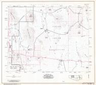Pima County Highway Map, Sheet 3 of 12, Gunsight, Charco 27, Page 3, Pima County 1975 Highway Maps