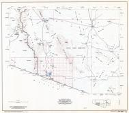 Pima County Highway Map, Sheet 4 of 12, Menagers Lake, Page 4, Pima County 1975 Highway Maps