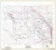 Pima County Highway Map, Sheet 8 of 12, Saguaro National Monument, Tucson Mountain Park, Page 8, Pima County 1975 Highway Maps