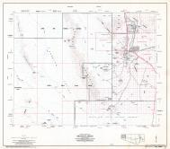 Pima County Highway Map, Sheet  of 12, Gibson, Page 2, Pima County 1975 Highway Maps