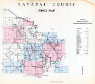 Index Map, Yavapai County 1966