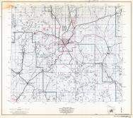 Yavapai County Highway Map, Sheet 7 of 12, Prescott, Iron Springs, Page 7, Yavapai County 1966