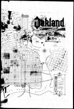 Index Map 2, Oakland 1889