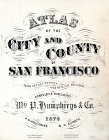 Title Page, San Francisco 1876 City and County