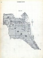 Index Map - Potero, San Francisco 1910 Block Book - Surveys of Potero Nuevo - Flint and Heyman Tracts - Land in Acres