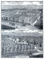 B.S. Fox Nursery, Residence and Orchard, San Jose, Santa Clara County 1876