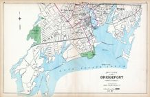 Bridgeport - South Part, Connecticut State Atlas 1893