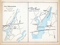 East Portchester, Cos-Cob, Mianus, Riverside, Connecticut State Atlas 1893
