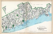 Fairfield County - South Part, Connecticut State Atlas 1893