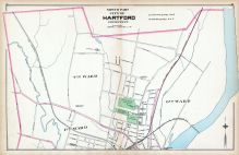 Hartford City - North Part, Connecticut State Atlas 1893