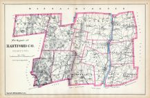 Hartford County - North Part, Connecticut State Atlas 1893