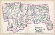 Hartford County - South Part, Connecticut State Atlas 1893