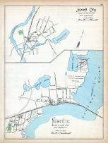 Jewett City, Niantic, Connecticut State Atlas 1893