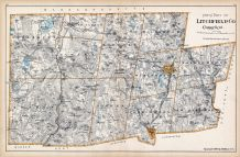 Litchfield County - North Part, Connecticut State Atlas 1893