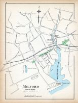 Millford, Connecticut State Atlas 1893