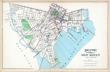 New Haven City - South Part, Connecticut State Atlas 1893