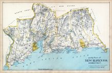 New Haven Co. - South Part, Connecticut State Atlas 1893