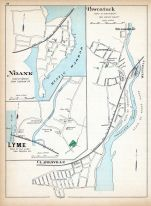 Pawcatuck, Noank, Lyme, Clarksville, Connecticut State Atlas 1893