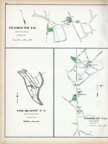 Plymourth P.O., Pine Meadow P.O., Woodbury P.O., Connecticut State Atlas 1893