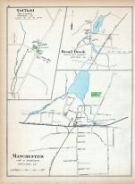 Suffield, Broad Brook, Manchester, Connecticut State Atlas 1893