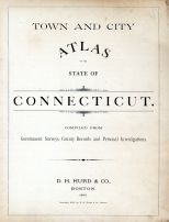 Connecticut State Atlas 1893