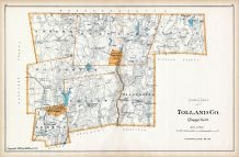 Tolland County - North Part, Connecticut State Atlas 1893