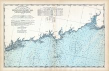 United States Coast Survey - Norwalk Islands to Southwest Ledge - Long Island Sound, Connecticut State Atlas 1893