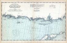 United States Coast Survey - Southwest Ledge to Niantic - Long Island Sound, Connecticut State Atlas 1893