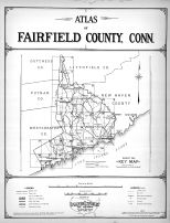 Title Page and Index Map, Fairfield County 1931