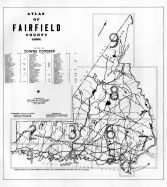 Title Page and Index Map, Fairfield County 1942