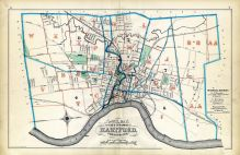 Index Map, Hartford City 1880