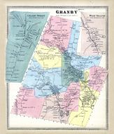 Granby, Granby Street Town, Granby West Town, West Granby Town, Hartford City and County 1869