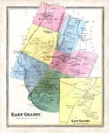 Granby East, East Granby, Granby East Town, East Granby Town, Hartford City and County 1869