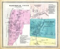 Warehouse Point East, East Warehouse Point, Windsorville East, East Windsorville, Broad Brook East, East Broad Brook