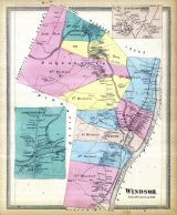 Windsor, Poquonnock, Rainbow, Hartford City and County 1869