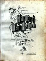 Title Page, Hartford City and West Hartford Town 1917