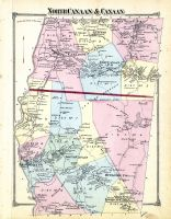 Canaan and Canaan North, Litchfield County 1874