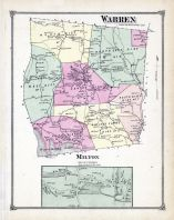 Warren, Milton Town, Litchfield County 1874
