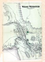 Winster Town West, Litchfield County 1874