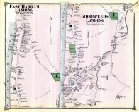Haddam Landing Town East, East Haddam Landing Town, Goodspeeds Landing Town, Middlesex County 1874