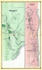 Higganum Town, Haddam Town, Shailorville, Middlesex County 1874