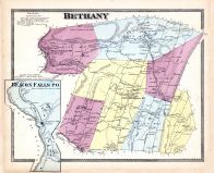 Bethany, Beacon Falls Town, New Haven County 1868