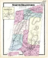 Branford North, Branford Town North, North Branford Town, New Haven County 1868