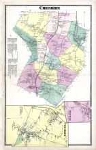 Cheshire 1, Mixville, Cheshire 2, New Haven County 1868