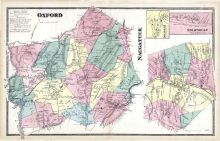 Oxford, Naugatuck, Millville, Straitville, New Haven County 1868