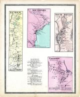 Southbury, Southford, Brithan South,Yalesville, New Haven County 1868