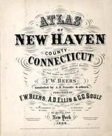 Title Page, New Haven County 1868